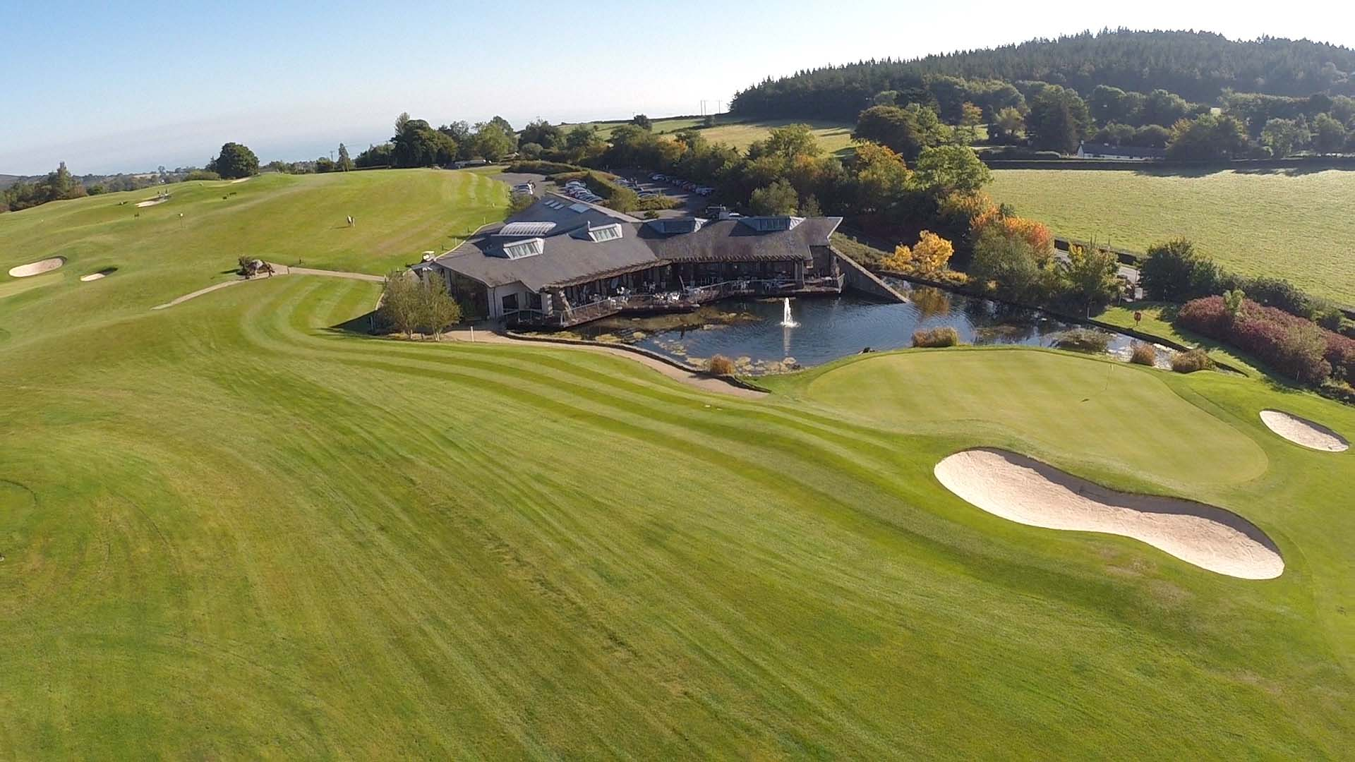 Brosnan Photography - Drone Video at Glen of the Downs Golf Club